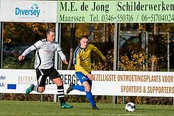 18-11-2017 NED: Maarssen 1 - OSM 1, Maarssen<br /> De derby van Maarssen eindigt in een gelijkspel 1-1