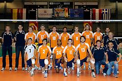12-06-2011 VOLLEYBAL: EUROPEAN LEAGUE NETHERLANDS - AUSTRIA: ROTTERDAM<br /> Team Netherlands<br /> &copy;2011-FotoHoogendoorn.nl