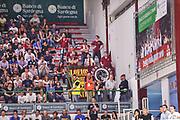 DESCRIZIONE : Campionato 2014/15 Dinamo Banco di Sardegna Sassari - Umana Reyer Venezia<br /> GIOCATORE : Panthers Venezia<br /> CATEGORIA : Ultras Tifosi Spettatori Pubblico<br /> SQUADRA : Umana Reyer Venezia<br /> EVENTO : LegaBasket Serie A Beko 2014/2015<br /> GARA : Dinamo Banco di Sardegna Sassari - Umana Reyer Venezia<br /> DATA : 03/05/2015<br /> SPORT : Pallacanestro <br /> AUTORE : Agenzia Ciamillo-Castoria/L.Canu