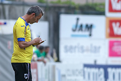 July 28, 2018 - Trento, TN, Italy - Marco Gianpaolo during the Pre-Season friendly between Sampdoria and Parma, in Trento on July 28, 2018, Italy  (Credit Image: © Emmanuele Ciancaglini/NurPhoto via ZUMA Press)