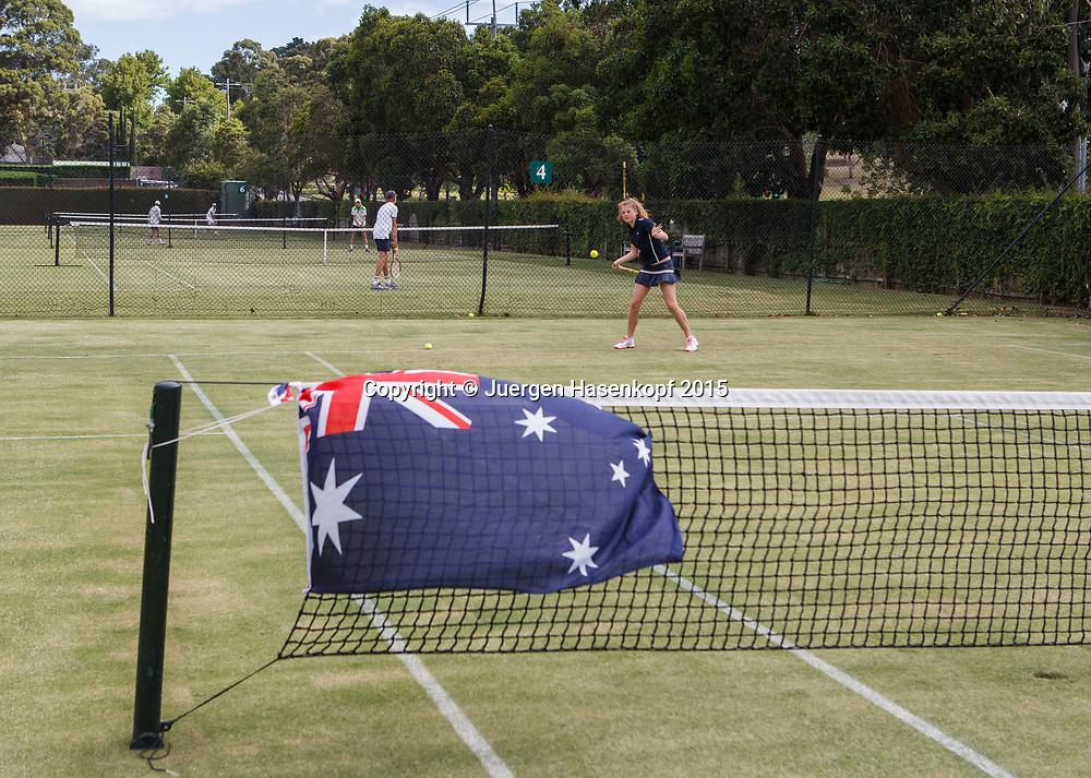 Royal South Yarra Lawn Tennis Club existiert seit 1884.