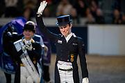 Helen Langehanenberg - Damsey FRH third in the World Cup final<br /> FEI World Cup Final Gothenburg 2019<br /> © DigiShots