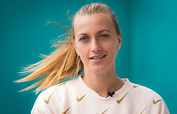 May 3, 2019 - Madrid, Spain - Petra Kvitova of the Czech Republic during All Access Hour at the 2019 Mutua Madrid Open WTA Premier Mandatory tennis tournament (Credit Image: © AFP7 via ZUMA Wire)