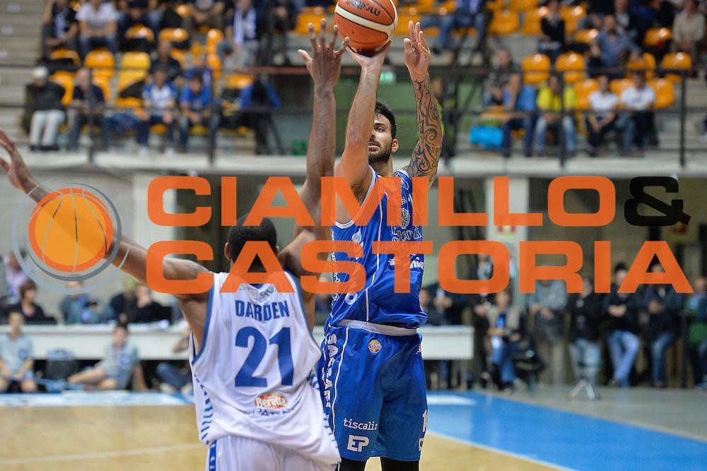 Brian Sacchetti<br /> Red October Cantu' Banco di Sardegna Sassari<br /> LegaBasket 2016/2017<br /> Desio 23/10/2016<br /> Foto Ciamillo-Castoria<br /> Provvisorio