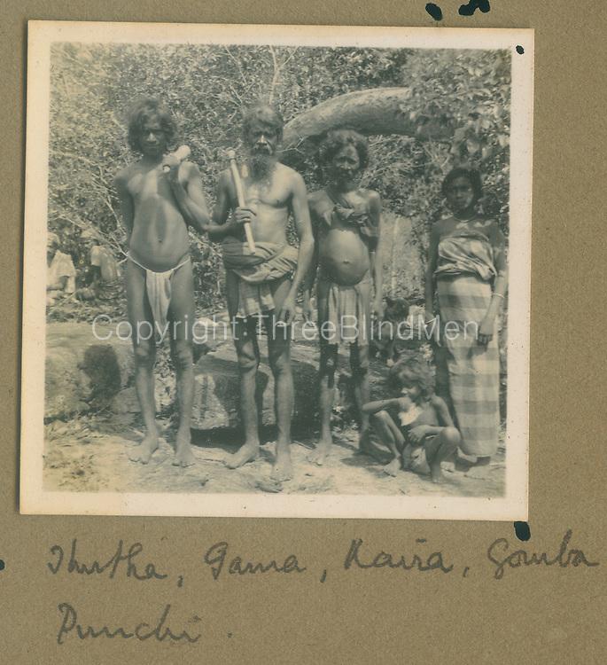 From Dr. R.L. Spittels Photo Albums..1939 Bingoda Trip albu,  Caption: Various names