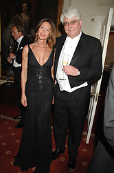 PAULA HAMILTON and CARL ERNSTING at the 2008 Berkeley Dress Show at the Royal Hospital Chelsea, London on 3rd April 2008.<br /><br />NON EXCLUSIVE - WORLD RIGHTS