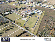 An aerial photo shows the Sterling High School campus in November 2014.