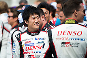June 13-18, 2017. 24 hours of Le Mans. Yuji Kunimoto, Toyota Racing