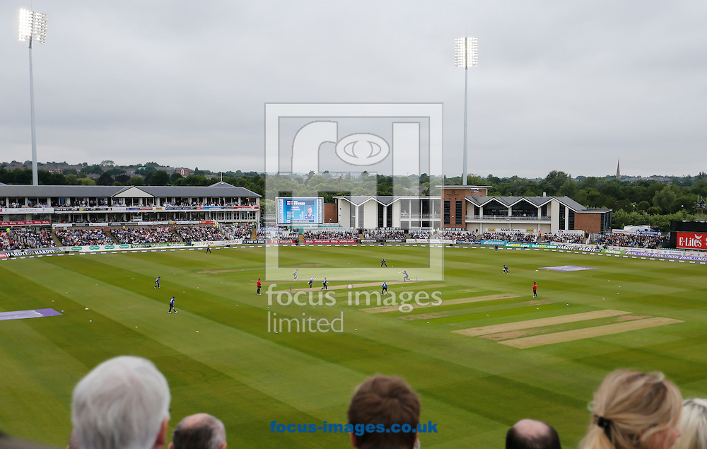 A general view of Emirates Durham ICG during the Royal London One Day Series match at Emirates Durham ICG, Chester-le-Street<br /> Picture by Simon Moore/Focus Images Ltd 07807 671782<br /> 20/06/2015