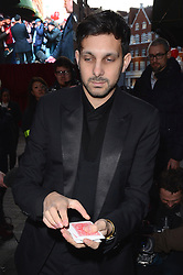 Dynamo opens Harrods Winter Sale at Harrods, Knightsbridge, London on Thursday 26 December 2013