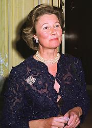 BARONESS von MALTZAHN at a dinner in London on 17th November 1998.<br /> MMB 6