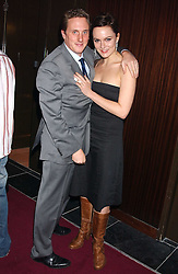 Actress RACHEL STIRLING and HARRY BECHER at the launch party of Purple Lounge - a new poker web site, held at The Cuckoo Club, Swallow Street, London W1 on 30th November 2005.<br />