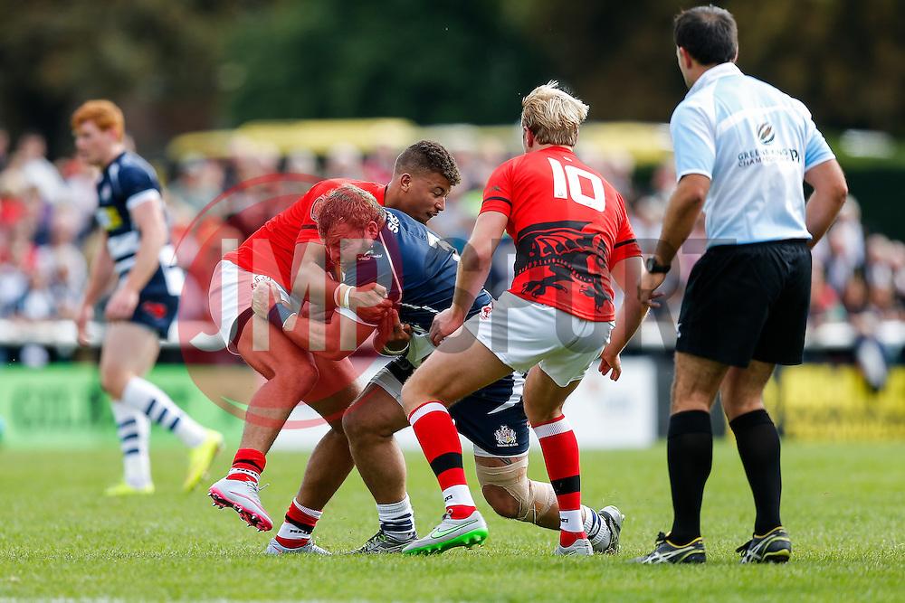 - Mandatory byline: Rogan Thomson/JMP - 07966 386802 - 13/09/2015 - RUGBY UNION - Old Deer Park - Richmond, London, England - London Welsh v Bristol Rugby - Greene King IPA Championship.