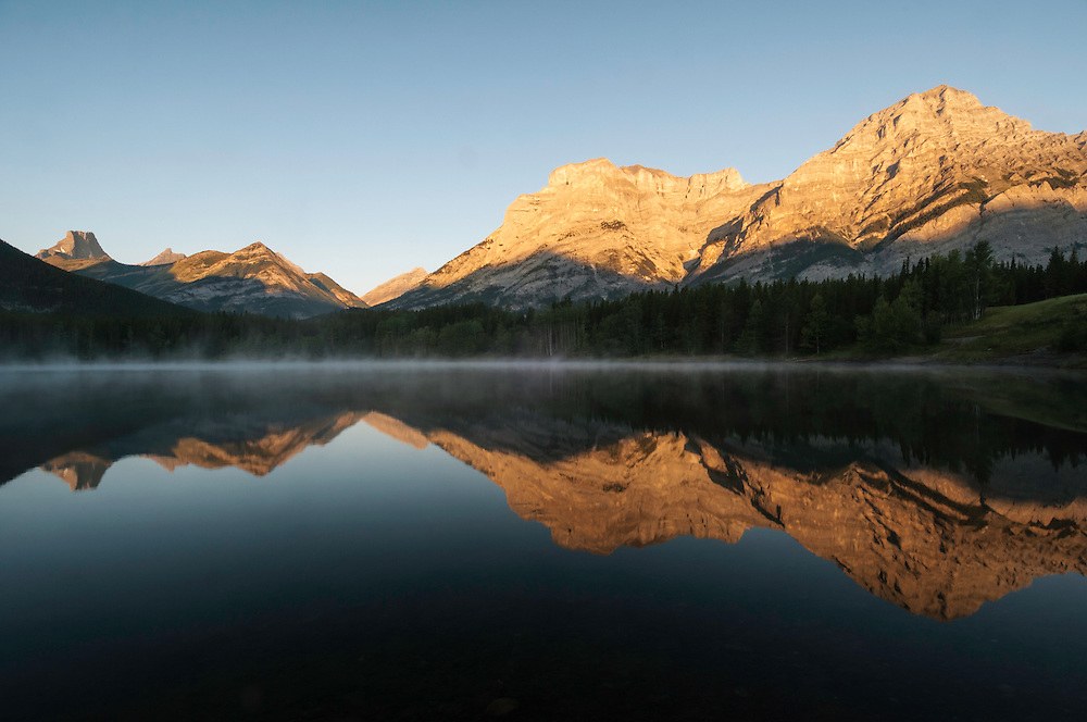 Sunrise, Wedge Pond, Kananaskis