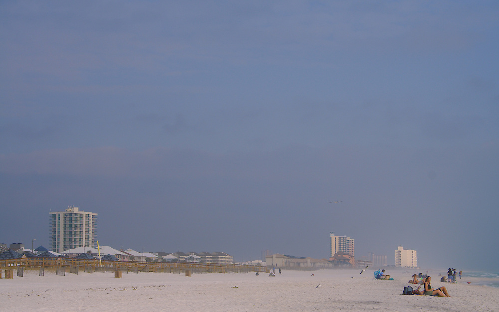 Pensacola Beach In December