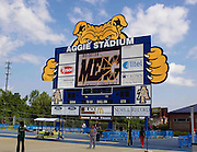 Aggie Stadium, the site of the 2011 MEAC Track and Field Championship held at North Carolina A&T in Greensboro, North Carolina.  (Photo by Mark W. Sutton)