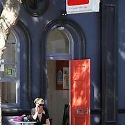Ruba cafe, Childers Road. Gisborne. North Island, New Zealand. 17th January 2010. Photo Tim Clayton.