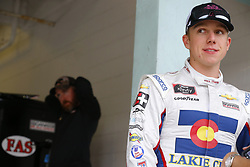 November 16, 2018 - Homestead, Florida, U.S. - John Hunter Nemechek (42) hangs out in the garage during practice for the Ford 300 at Homestead-Miami Speedway in Homestead, Florida. (Credit Image: © Chris Owens Asp Inc/ASP)