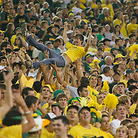 Student section. Oregon defeated Purdue 38-36 in a non-conference game, in Autzen Stadium, on Saturday, Sept. 12, 2009.
