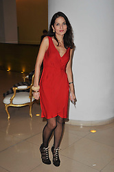 YASMIN MILLS at a Burns Night dinner in aid of cancer charity CLIC Sargent held at St.Martin's Lane Hotel, London on 25th January 2011.