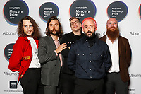 IDLES attend the media room during 2019 Hyundai Mercury Prize, Eventim Apollo, London, UK, Saturday 06 July 2019<br /> Photo JM Enternational