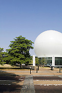 SERPENTINE PAVILION 2006, LONDON, W2 PADDINGTON, UK, REM KOOLHAAS - OFFICE FOR METROPOLITAN ARCHITECTURE, EXTERIOR, FROM CARRIAGE DRIVE PORTRAIT