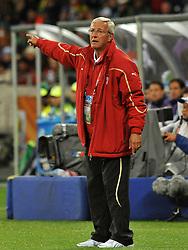 Football - soccer: FIFA World Cup South Africa 2010, Italy (ITA) - Paraguay (PRY), L' ALLENATORE MARCELLO LIPPI