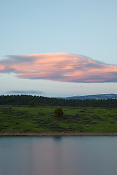 """Prosser Reservoir Sunset 3"" - This sunset was photographed at Prosser Reservoir in Truckee, CA."