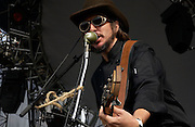 July 13, 2003; Lewisburg, WV, USA; LES CLAYPOOL'S FROG BRIGADE performing at The 2003 Mid-Atlantic Music Experience.