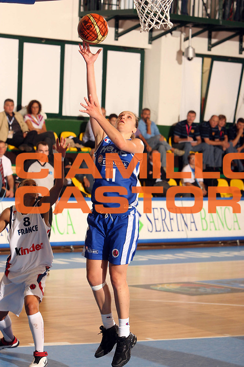 DESCRIZIONE : Chieti Italy Italia Eurobasket Women 2007 Francia Grecia France Greece<br /> GIOCATORE : Eirini Stachtiari<br /> SQUADRA : Grecia Greece<br /> EVENTO : Eurobasket Women 2007 Campionati Europei Donne 2007<br /> GARA : Francia Grecia France Greece<br /> DATA : 24/09/2007<br /> CATEGORIA : Tiro<br /> SPORT : Pallacanestro <br /> AUTORE : Agenzia Ciamillo-Castoria/E.Castoria<br /> Galleria : Eurobasket Women 2007<br /> Fotonotizia : Chieti Italy Italia Eurobasket Women 2007 Francia Grecia France Greece<br /> Predefinita :
