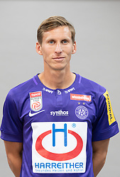 16.07.2019, Generali Arena, Wien, AUT, 1. FBL, FK Austria Wien, Fototermin, im Bild Florian Klein // Florian Klein during the official team and portrait photoshooting of tipico Bundesliga Club FK Austria Wien for the upcoming Season at the Generali Arena in Vienna, Austria on 2019/07/16. EXPA Pictures © 2019, PhotoCredit: EXPA/ Florian Schroetter