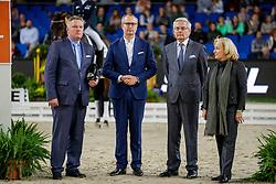 Plewa Dietrich, GER, Rotermund Carsten, GER, Huttrop-Hagge Kai, GER, Tebar Karen, GER<br /> Stuttgart - German Masters 2019<br /> © Hippo Foto - Stefan Lafrentz