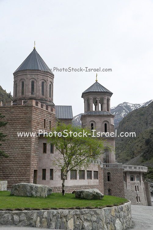 Georgia, Military highway, Church on the Russian border