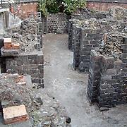 L'anfiteatro romano nel centro di Catania..The roman amphitheatre in Catania