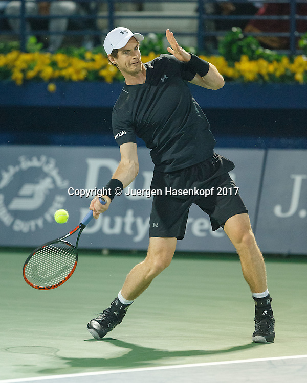 ANDY MURRAY (GBR)<br /> <br /> Tennis - Dubai Duty Free Tennis Championships - ATP -  Dubai Duty Free Tennis Stadium - Dubai -  - United Arab Emirates  - 28 February 2017. <br /> &copy; Juergen Hasenkopf