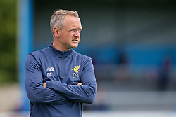 NUNEATON, ENGLAND - Sunday, July 30, 2017:  Liverpool's Under 23's manager Neil Critchley during a pre-season friendly between Liverpool and PSV Eindhoven at the Liberty Way Stadium. (Pic by Paul Greenwood/Propaganda)