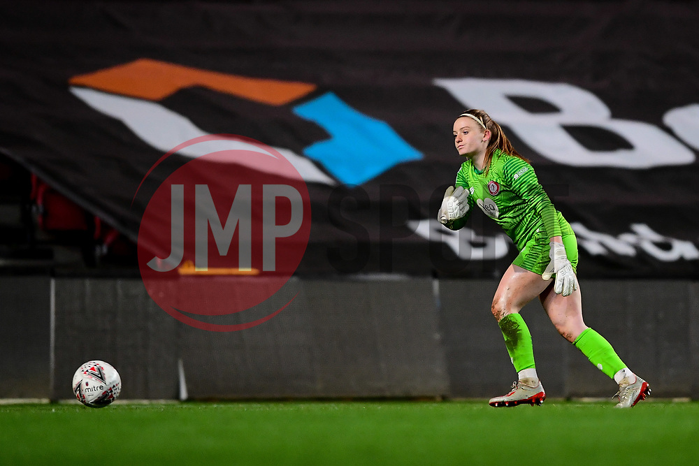 Sophie Baggaley of Bristol City - Mandatory by-line: Ryan Hiscott/JMP - 17/02/2020 - FOOTBALL - Ashton Gate Stadium - Bristol, England - Bristol City Women v Everton Women - Women's FA Cup fifth round