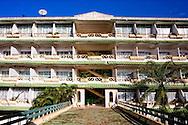 Russian architecture at the Hotel Ciego de Avila, Cuba.