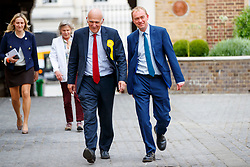© Licensed to London News Pictures. 22/05/2017. London, UK. Liberal Democrat leader TIM FARRON and Former Business Secretary and candidate for Twickenham VINCE CABLE visit the HQ of Graze, healthy snacks company in Richmond, west London on Monday 22 May 2017. Photo credit: Tolga Akmen/LNP