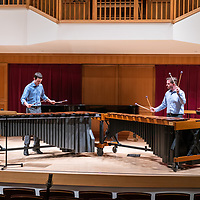 Kevin Keith's January 17, 2019 graduate percussion recital