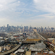 Long Island City panoramic photo.