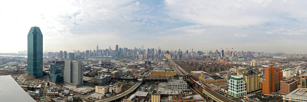 Long Island City panoramic photo.