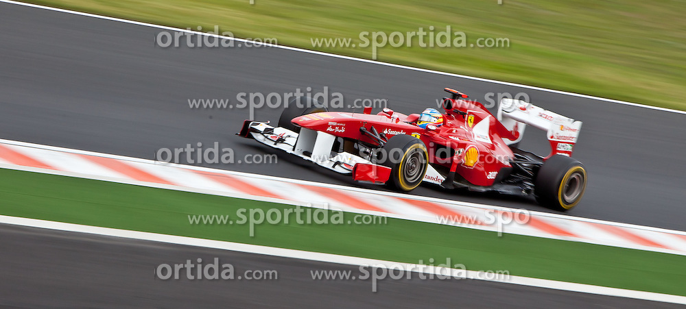 29.07.2011, Hungaroring, Budapest, HUN, F1, Grosser Preis von Ungarn, Hungaroring, im Bild Fernando Alonso (ESP), Scuderia Ferrari // during the Formula One Championships 2011 Hungarian Grand Prix held at the Hungaroring, near Budapest, Hungary, 2011-07-29, EXPA Pictures © 2011, PhotoCredit: EXPA/ J. Feichter