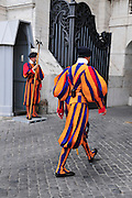 Vatican City, Rome, Italy Swiss Guards
