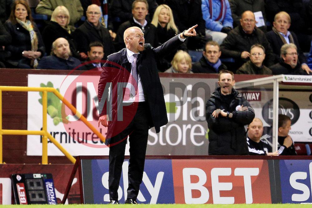Burnley Manager Sean Dyche shouts - Mandatory by-line: Matt McNulty/JMP - 05/04/2016 - FOOTBALL - Turf Moor - Burnley, England - Burnley v Cardiff City - SkyBet Championship