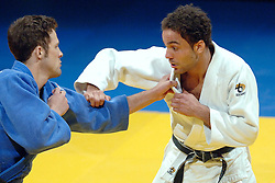18-03-2006 JUDO: DUTCH OPEN: ROTTERDAM<br /> Brian van Dijk wint van de Amerikaan Ryan Reser en pakt de gouden medaille in de klasse -73 kg.<br /> Copyrights: WWW.FOTOHOOGENDOORN.NL