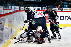 04.01.2015, Dom Sportova, Zagreb, CRO, KHL League, KHL Medvescak vs Slovan Bratislava, 43. Runde, im Bild Nagy Ladislav // during the Kontinental Hockey League 43th round match between KHL Medvescak and Slovan Bratislava at the Dom Sportova in Zagreb, Croatia on 2015/01/04. EXPA Pictures © 2015, PhotoCredit: EXPA/ Pixsell/ Davor Puklavec<br /> <br /> *****ATTENTION - for AUT, SLO, SUI, SWE, ITA, FRA only*****