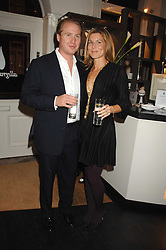 JOE and ALEX BAMFORD at a party hosted by Allegra Hicks to launch Lapo Elkann's fashion range in London held at Allegra Hicks, 28 Cadogan Place, London on 14th November 2007.<br />
