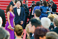 Salma Hayek on the Red Carpet in the Festival Internationnal of the film from Cannes<br />  Cannes, May 17, 2015