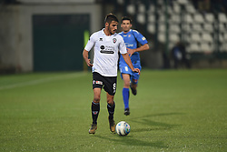 November 3, 2018 - Vercelli, Italy - Italian midfielder Umberto Germano from Pro Vercelli team playing during Saturday evening's match against Novara Calcio valid for the 10th day of the Italian Lega Pro championship  (Credit Image: © Andrea Diodato/NurPhoto via ZUMA Press)